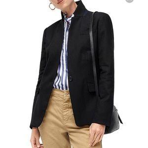 J. Crew navy blue wool Regent blazer